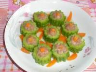 bitter melon with stuffed pork
