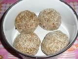 Chinese new year food: Pork Ball - Before steamed