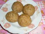 Chinese new year food: Pork Ball - after steamed