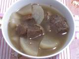 Chinese Soup : Beef Radish Soup Recipe