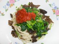 Noodle with black fungus