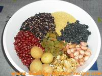 Laba Porridge recipe.Laba Zhou,step1
