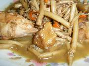 Chinese Recipe: Stewed Chicken with Mushroom