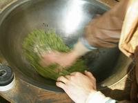 tea farmers are making Longjing tea