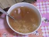 Chinese Soup: Lotus Leaf Rice Soup