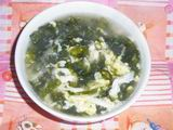 Seaweed Egg Drop Soup