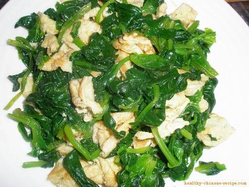Spinach Egg Salad Recipe