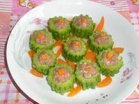bitter melon with stuffed pork