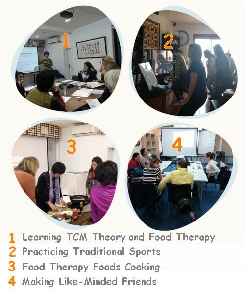 Anna's TCM based Food Therapy Training Course.