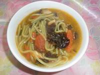 Noodle Soup with Black Fungus