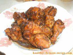Braised Chicken Wing Recipe, Healthy Chinese Recipe