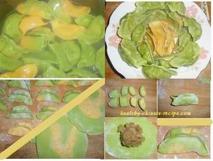 colorful dumpling