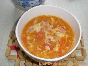 Tomato Egg Sou, Chinese Egg Drop Soup
