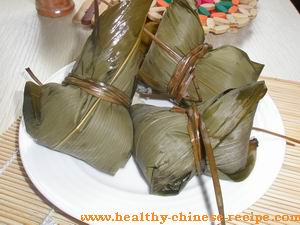 zongzi, traditional Chinese food dessert